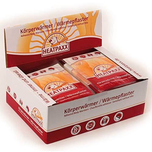 HeatPaxx Körperwärmer-/Dünne Wärmepflaster (für punktgenaue Wohlfühlwärme, 5, 15 oder 40 Wärmespender im Vorteilspack) (40)
