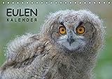 Eulen-Kalender (Tischkalender 2018 DIN A5 quer): Faszinierende Portraits und Flugaufnahmen europäischer Eulen (Monatskalender, 14 Seiten ) (CALVENDO Tiere) [Kalender] [Apr 01, 2017] Wolf, Gerald