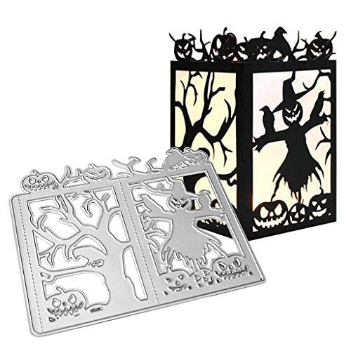Halloween Kürbis Papier Ausschnitte - ECMQS Halloween Kürbis Stanzmaschine Stanzschablone Prägeschablonen