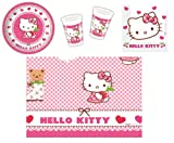 Procos 412274 - Set di accessori per feste, motivo: Hello Kitty Hearts, S