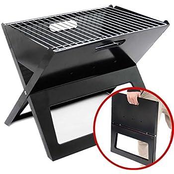 Uten barbecue portatile a carbone affumicatore per for Affumicatore portatile