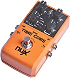 Nux Delay & Stereo Loop Guitar Effects Pedal - Time-Core