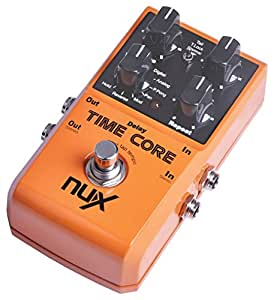 nux delay stereo loop guitar effects pedal time core musical instruments. Black Bedroom Furniture Sets. Home Design Ideas