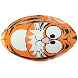 Optimum Tiger Rugby Ball - Multicoloured, Size 3