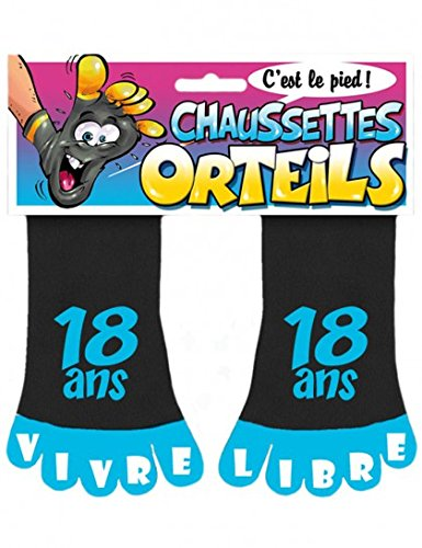 Chaussette Orteils 18 ans Super Libre Taille Unique