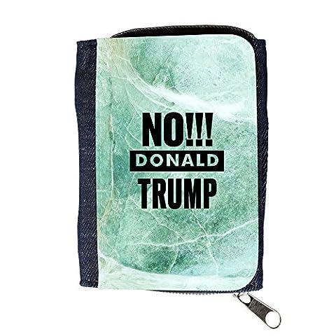 le portefeuille de grands luxe femmes avec beaucoup de compartiments // Q04170537 Bye bye Trump marbre de jade // Purse Wallet