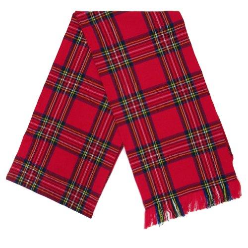 Women's Scottish Kostüm - Tartanista - Damen Schärpe - mit Tartanmuster schottischer Clans - 27 x 229 cm (10,5