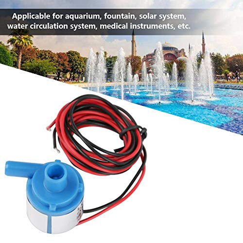 Simlug Bürstenlose Wasserpumpe Mini Food Grade Bürstenlose Wasserpumpe 6V DC 3W für Aquarienbrunnen Medizinische Instrumente