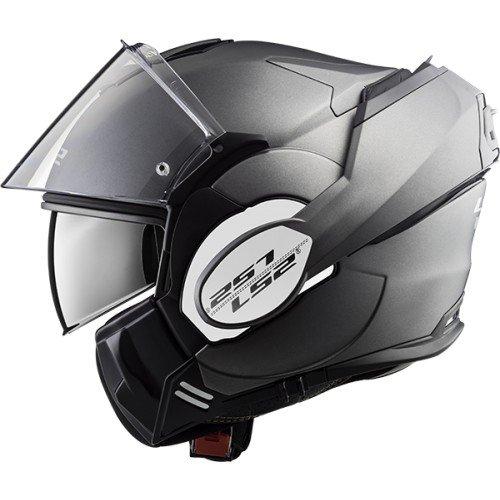 LS2 casque modulable Valiant mat titanium Taille XXL