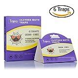 Trappole per tarme con feromone attrattivo, non tossico e inodore (6trappole)