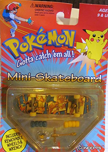 See Skateboard (Pokemon Mini-Skateboard-- Please see product listings for individual characters by X-Concepts)
