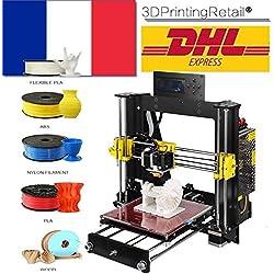 Impresora 3D Abcs Printing A8 Prusa I3 Pro B Kit, Impresora 3D Sin Montar, CNC,Apoyo la diversidad de material Tamaño de Impresión Grande 200 * 200 *180mm