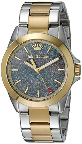 Juicy Couture Women's 1901286 Malibu Analog Display Quartz Two Tone Watch