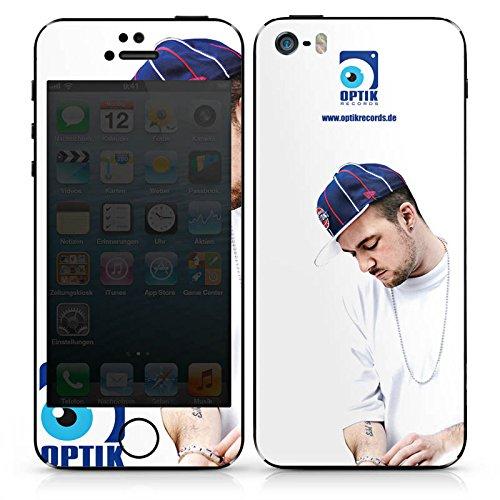 Apple iPhone 4s Case Skin Sticker aus Vinyl-Folie Aufkleber Kool Savas Fanartikel Merchandise Optik Records DesignSkins® glänzend