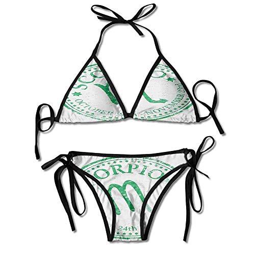 Hot Summer Women's Bikini,Design with Grunge Look Sexy Bikini 2 Pieces