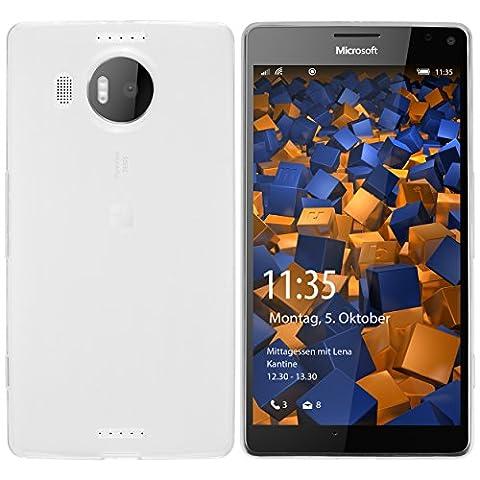 mumbi UltraSlim Hülle für Microsoft Lumia 950 XL Schutzhülle transparent