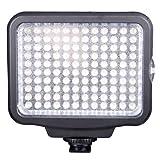 Mcoplus-migliore qualità-alta luminosità 120LED Luce video LED + batteria F750, luci LED per reflex digitali e videocamere Canon-Nikon-Olympus-Sony-Panasonic-Pentax - Mcoplus - amazon.it