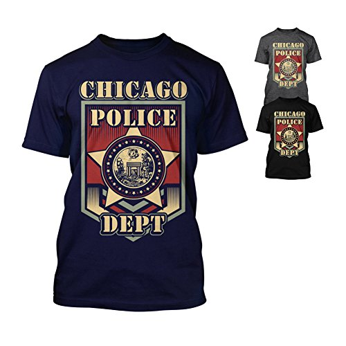 Chicago Police Department - T-Shirt Dunkelgrau