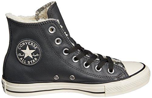 Converse noir Sneakers Hohe Ct Damen Shearling Hi Schwarz rwrqFA