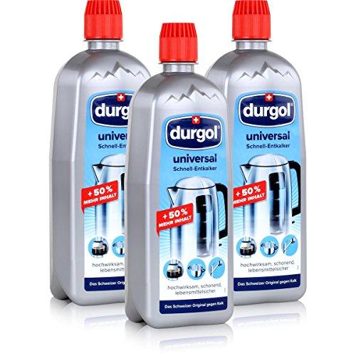 Durgol Universal Schnell-Entkalker 750ml - hochwirksam, schonend, lebensmittelsicher - Befreit alle...
