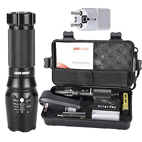 zolimx G700 X800 LED Zoom Linterna Táctica Grado Militar Equipado US