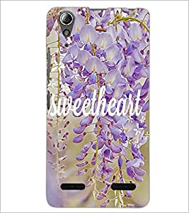 PrintDhaba Sweetheart D-4183 Back Case Cover for LENOVO A6000 (Multi-Coloured)