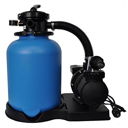 8,0m³/h Sandfilter ECO Ø 400 mit SPS-100-1 Pumpe bis 40m³ Becken