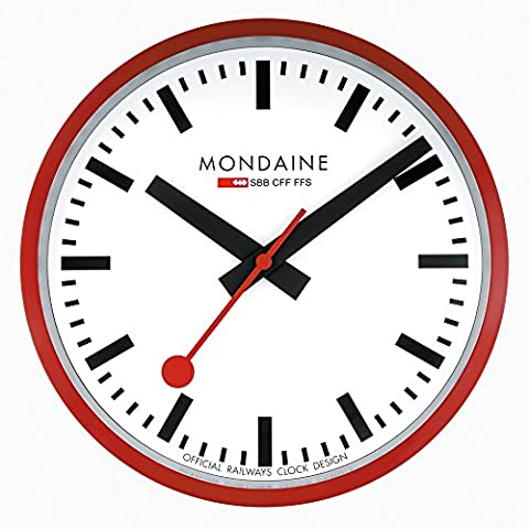 Mondaine Quartz Watch with Dial Analogue Display and Strap