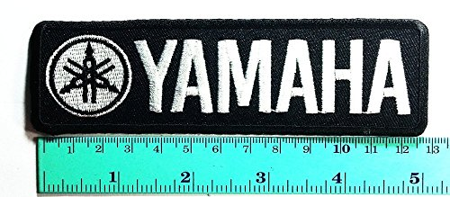 Parche negro para Yamaha Racing para coche, carreras, coches, motos, deportes de...