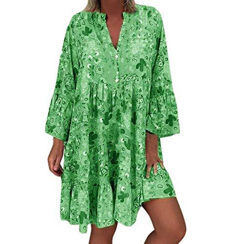 LANSKIRT Vestidos Verano Mujer Tallas Grandes