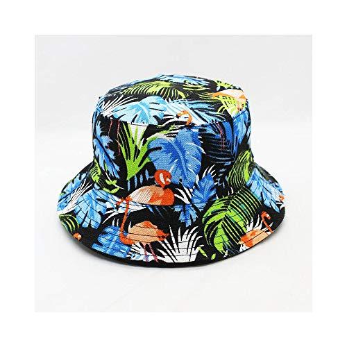 WJMLHLLE Flamingo Animal Print Bucket Hat Fischerhut Outdoor Reisehut Sun Cap Hüte Für Männer Und Frauen