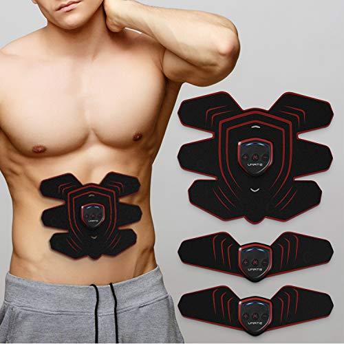YISSVIC Electroestimulador Muscular Abdominales, EMS Estimulador Muscular para Piernas, Brazo y Abdomen en Casa Unisex