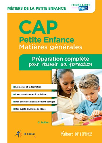 CAP Petite enfance - Matières générales - Tout-en-un