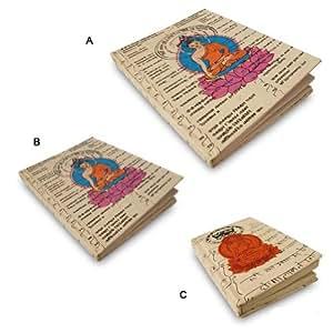 Papier fait main l 39 int rieur de couverture imprim e - Fourniture de bureau livraison gratuite ...