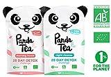 Panda Tea thé detox cure minceur biologique - challenge 28 jours (56 sachets) �