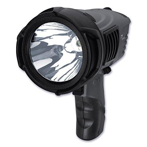 LiteXpress LXSP 102-2 Handscheinwerfer, 1 Cree Hochleistungs-LED, Lichtleistung max. 500 Lumen, Leuchtweite max. 620 Meter und Leuchtdauer max. 81 Stunden - 2