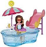 Toy - Barbie DWJ47 Club Chelsea Pool and Water Slide Doll