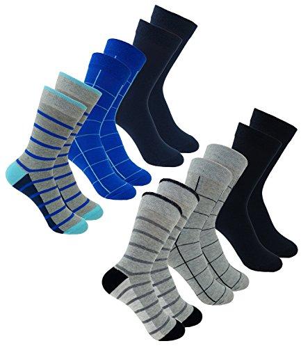 EveryKid Ewers 6er Pack Jungensocken Sparpack Socken Markensocken Sommersocken Strümpfe für Kinder (EW-201083-S18-JU2-002-003-31/34) in Aqua-Tinte-Schwarz-Grau, Größe 31/34 inkl Fashionguide -