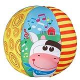 Chicco - Pelota musical para bebés, suave y blanda, con música cuando rueda