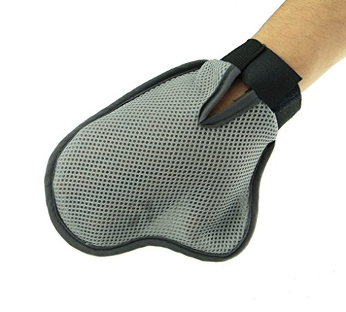 Babe Mall Inc® Comfortable Pet Animal Grooming Glove,Dog & Cat Comb Cleaning Mitt Brush for Medium to Long Hair, Curly 3