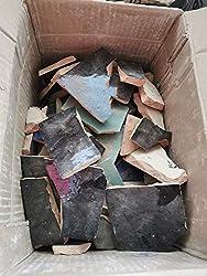 Fliesenbruch Mosaikfliesen Kreative K/ünstler 2kg Bruchfliesen handbemalte Mosaik St/ücke glasierte Steine Bruchmosaik Bastler