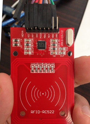 Sintron] RC522 RFID Reader/Writer Module kit with SPI for
