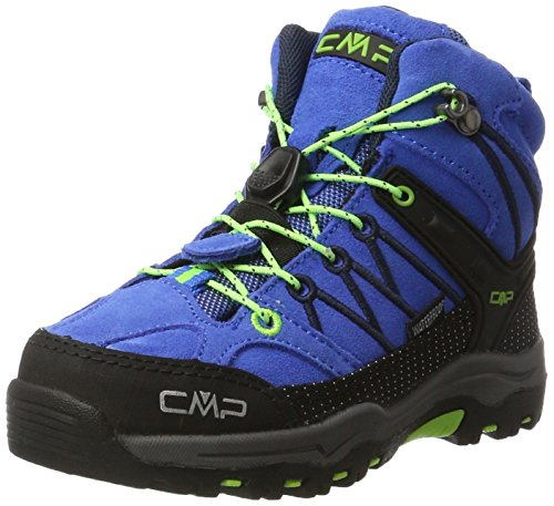 CMP Unisex-Kinder Rigel Mid WP Trekking-& Wanderstiefel, Türkis (Royal-Frog), 32 ()
