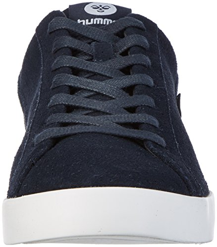 Hummel Cross Court Suede, Sneakers Basses Homme Bleu (Total Eclipse)