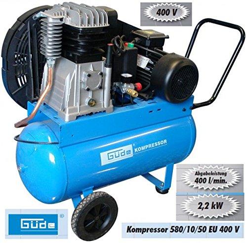 Güde Kompressor 580/10/50 EU 400V - 2