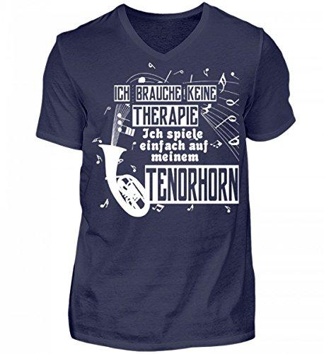 Tenorhorn - Herren V-Neck Shirt