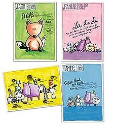 Postkarten Set für Baby und Kind, 9 Stück Kinderkarten, Babykarten
