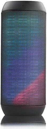 برومايت سماعات ستيريو بلوتوث محمولة مع مشغل ام بي 3، ايه يو اكس، مع مايكروفون وضوء ال اي دي - سنس