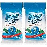 Duzzit Pack de 2 x 50 lingettes désinfectantes Tuent 99,9% des germes