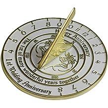 Meridiana,  ° anniversario di matrimonio, inglese realizzato a mano con argento, perla, rubino o versioni nozze d' oro., metallo, 1st Anniversary - Diamond Ring: Platinum Diamond Band